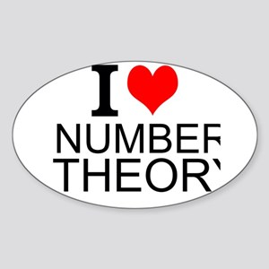 I Love Number Theory Sticker