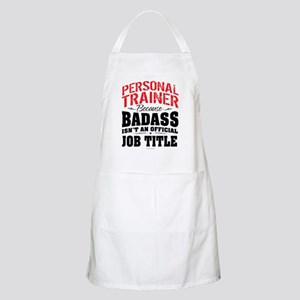 Badass Personal Trainer Apron