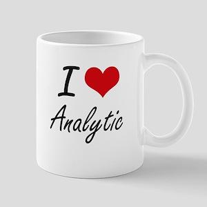 I Love Analytic Artistic Design Mugs
