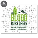 Our Blood Runs Green Puzzle