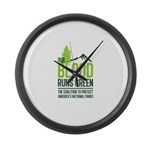 Our Blood Runs Green Large Wall Clock