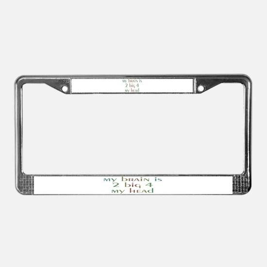 Unique Surgery License Plate Frame