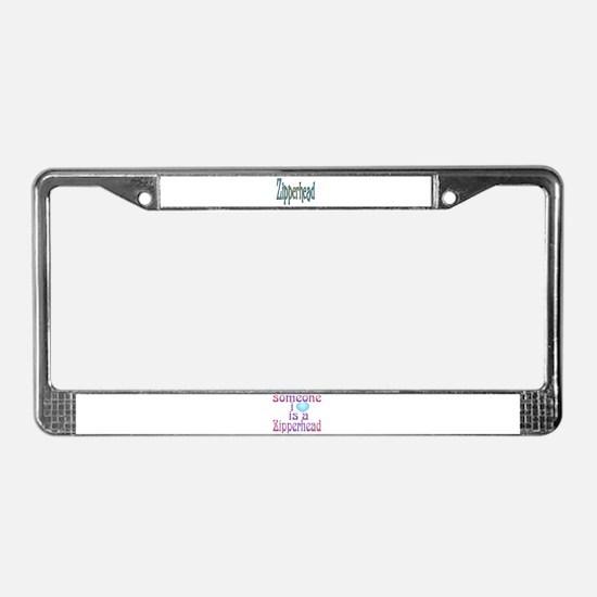 Cute Surgery License Plate Frame