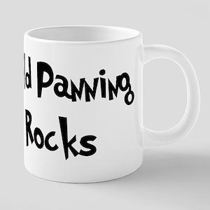 Gold Panning Rocks Mugs
