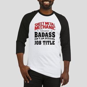 Sheet Metal Mechanic Badass Baseball Jersey