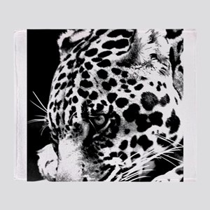 Leopard at night. Throw Blanket