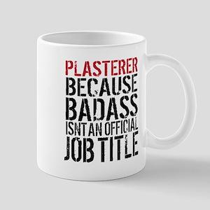 Badass Plasterer Mugs