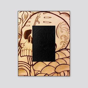 Chicano skull Picture Frame