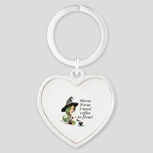 HALLOWEEN WITCH - HOCUS POCUS I NEE Heart Keychain