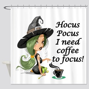 HALLOWEEN WITCH - HOCUS POCUS I NEE Shower Curtain