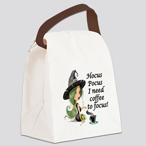 HALLOWEEN WITCH - HOCUS POCUS I N Canvas Lunch Bag
