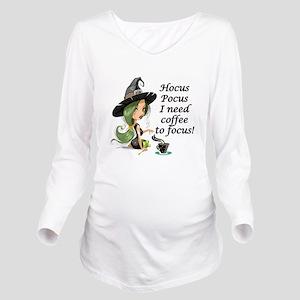 HALLOWEEN WITCH - HO Long Sleeve Maternity T-Shirt