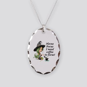 HALLOWEEN WITCH - HOCUS POCUS  Necklace Oval Charm