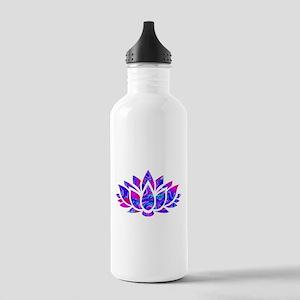 Lotus flower Stainless Water Bottle 1.0L