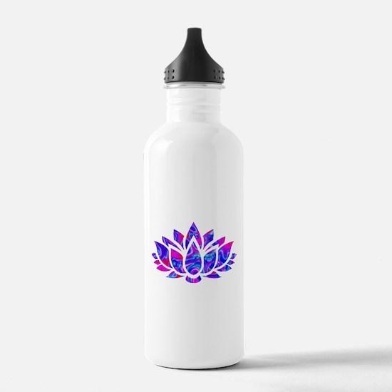 Lotus flower Sports Water Bottle