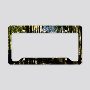 Through The Bamboo License Plate Holder