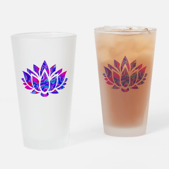 Lotus flower Drinking Glass