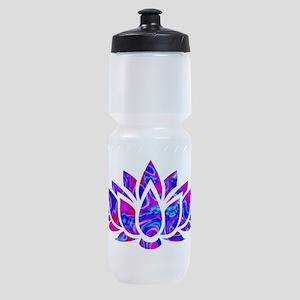 Lotus flower Sports Bottle