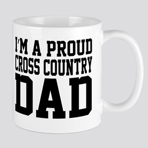 Proud Cross Country Dad Mugs