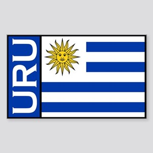 Uruguayan Stickers Rectangle Sticker