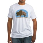 Bison Fitted T-Shirt