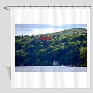 Highland Lake 1 Shower Curtain