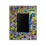 Peacock and Butterflies Picture Frame