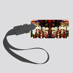 Nutcracker Soldiers Small Luggage Tag
