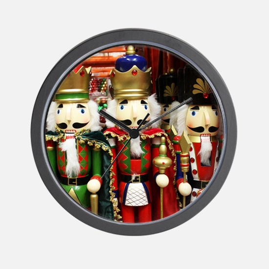Nutcracker Soldiers Wall Clock