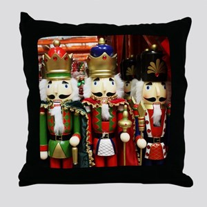 Nutcracker Soldiers Throw Pillow