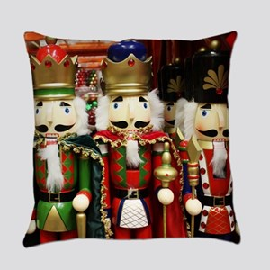 Nutcracker Soldiers Everyday Pillow