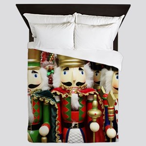 Nutcracker Soldiers Queen Duvet