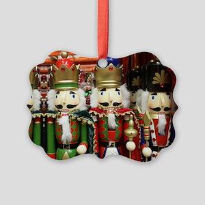 Nutcracker Soldiers Picture Ornament