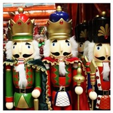 Nutcracker Soldiers Canvas Art