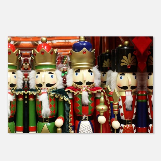 Nutcracker Soldiers Postcards (Package of 8)