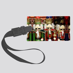 Nutcracker Soldiers Large Luggage Tag