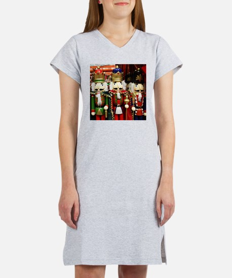 Nutcracker Soldiers Women's Nightshirt