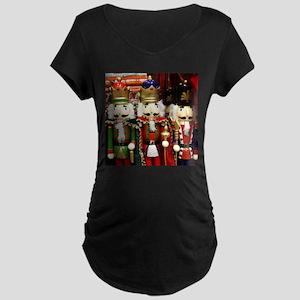 Nutcracker Soldiers Maternity T-Shirt