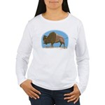Bison Women's Long Sleeve T-Shirt