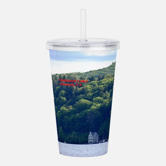 Highland Lake 1 Acrylic Double-wall Tumbler