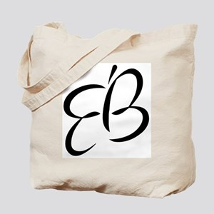 Eb Vertical Tote Bag