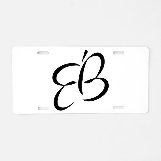 Eb Aluminum License Plate
