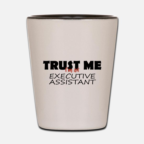 Executive Assistant Shot Glass