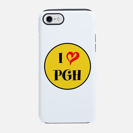 I love Pittsburgh iPhone 8/7 Tough Case