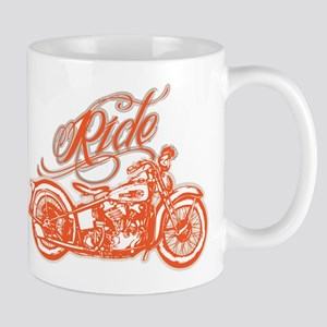 RIDE THE KNUCKLE Mugs