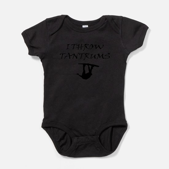 Cute Wake board Baby Bodysuit