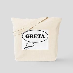 Thinking of GRETA Tote Bag