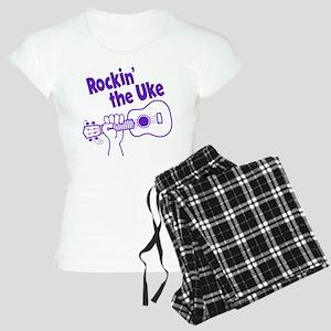 ROCKIN' THE UKE Women's Light Pajamas