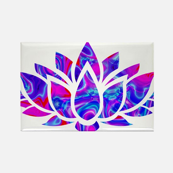 Lotus flower Magnets