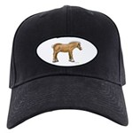 Draft Horse Black Cap with Patch